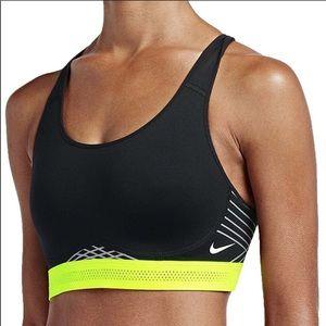 Nike Pro Fierce Reflective Training Sports Bra S